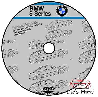 Manuale Officina Bmw Serie 5 E34 Bentley Publisher My 1989 -1995 Workshop Manual