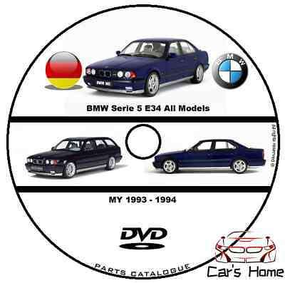 Manuale Officina Bmw Serie 5 E34 Publisher My 1993 - 1994 Workshop Manual Repair