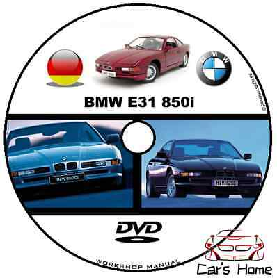 Manuale Officina Bmw Serie 8 E31 Publisher My 1994 Workshop Manual Repair Dvd