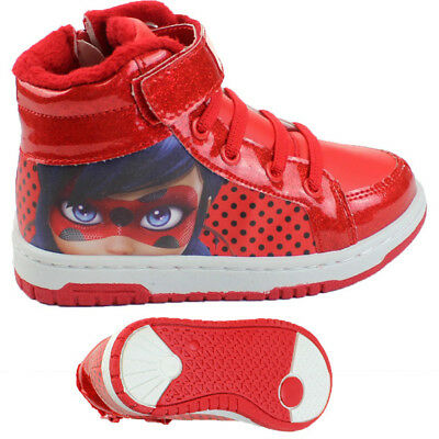Miraculous Ladybug - Winter Basketballstiefel - Schuhe - Sneaker - Rot