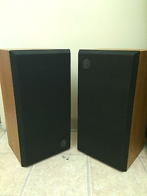 Vintage Altec Lansing Speakers Model Three Floor Made In USA