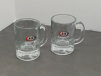 A&W Mini Glasses set of 2