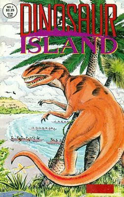 Dinosaur Island (1991 Monster Comics) #1 VG LOW GRADE