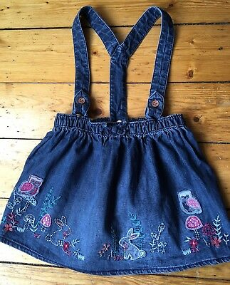 Cute 3-4 Years Girls Denim Dress/skirt Very Cute