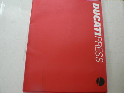 D983 Brochure Ducati Presse Info 2001/2002 Models ? Italian About 40 Pages