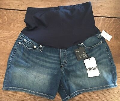 Gap Maternity Denim Jean Shorts Size 10 NEW WITH TAGS. FREE SHIPPING!
