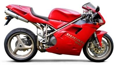 Manuale Officina Ducati 748 - 916 My 1998 - 2004 Workshop Manual Email