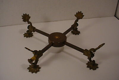 Vintage Brass Ornate Adjustable Trivet