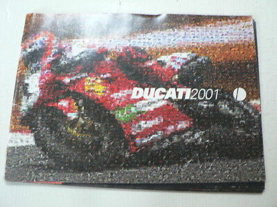 D984 Brochure Ducati 2001 Models Grench/german 32 Pages 996,748,monster,mh900,s4