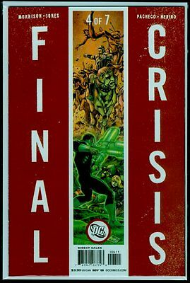 DC Comics FINAL CRISIS #4 NM+ 9.6