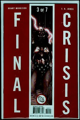 DC Comics FINAL CRISIS #3 NM+ 9.6