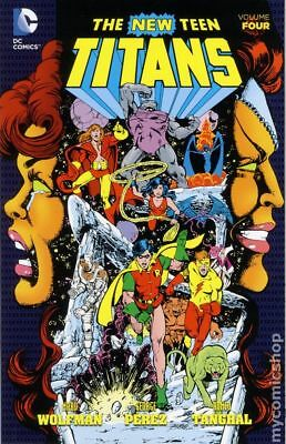 New Teen Titans TPB (2014-2017 DC) By Marv Wolfman and George Perez #4-1ST NM