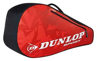 Dunlop Tour 3r Bag Red 3 Rackets Black   Red