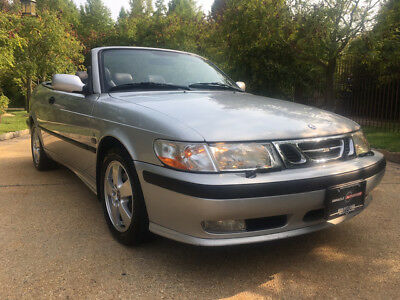 2003 Saab 9-3 SE Convertible 2-Door 56k low mile free shipping warranty 1 owner clean carfax cheap luxury rare