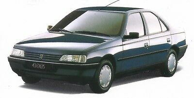 MANUALE OFFICINA PEUGEOT 405 my 1987 - 1997 WORKSHOP MANUAL mail