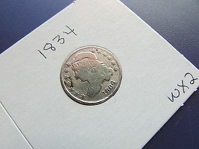 1834 Capped Bust Dime
