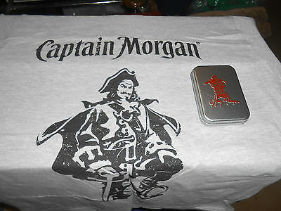 Captain Morgan T-shirts L & Playing Card