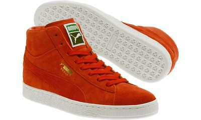a0b6a03f0969 PUMA SUEDE CLASSIC Mid RED US MENS SHOE SIZES 36386602 -  60.74 ...