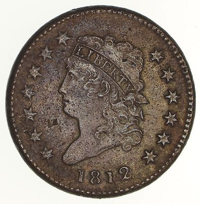 1812 Classic Head Large Cent - Circulated *2104