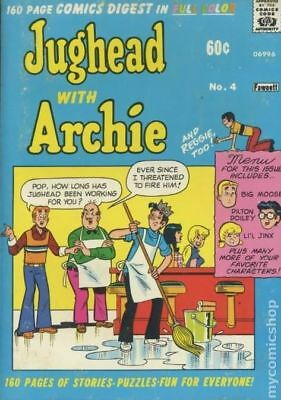 Jughead with Archie Digest (1974) #4 VG 4.0 LOW GRADE