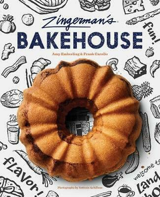 Zingerman's Bakehouse by Amy Emberling Hardcover Book Free Shipping!