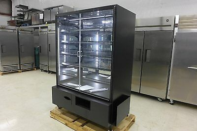 NEW Marco 4' Display Swing Door LED Dry Bakery Display Cabinet Donut Pastry Case