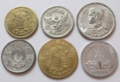 Lot of 6 coins - Thailand