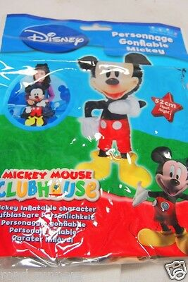 Mickey Mouse Disney Inflatable Character 52cm Tall NEW