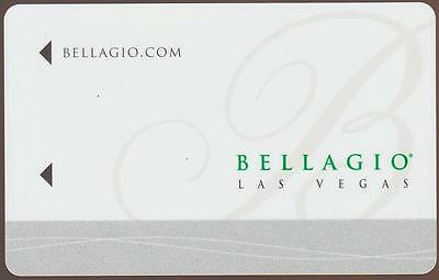 BELLAGIO casino*White express check out back #rd *NEW*las vegas hotel key card