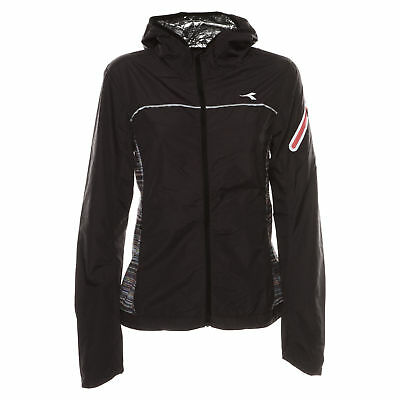 Diadora Wind Jacket Win Giubbino Running Donna 172148 80001