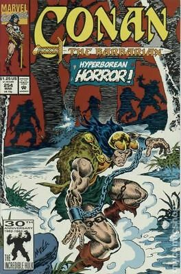 Conan the Barbarian (1970 Marvel) #254 FN