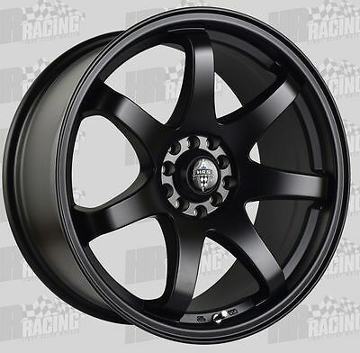 HR 556 18x8.5 wheels 10h 5/100 5/114.3 45p to suit wrx toyota 86 mazda 3 and 6