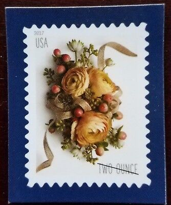usps Postal Stamp Magnet Two Ounce Flowers