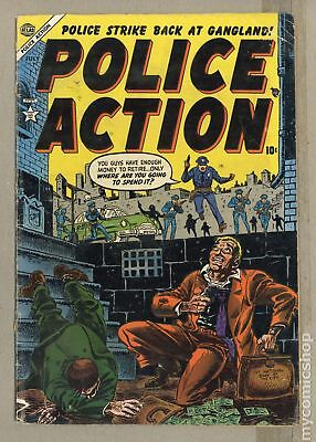 Police Action (1954 Atlas) #4 GD 2.0