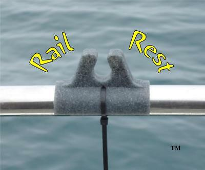 RAIL REST THE ULTIMATE BOAT ROD REST HOLDER with FREE postage