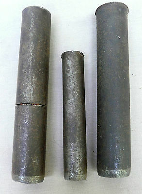 Three Heavy Duty leather punches