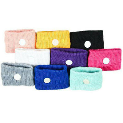 2Pcs Travel Sickness Wrist Band Anti Nausea Sick Car Sea Plane Cotton Wristband