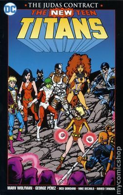 New Teen Titans The Judas Contract TPB (2017 DC) New Edition #1-1ST NM