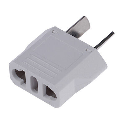 US EU To Au Socket 220v Ac Power Plug Adapter Outlet Travel Converter