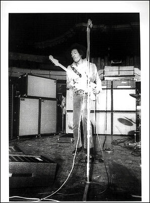 Jimi Hendrix Poster Page . Feb 1969 Royal Albert Hall London . J106