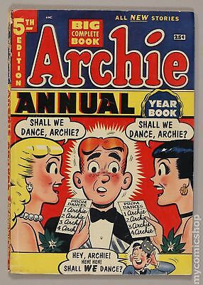 Archie Annual (1950) #5 VG 4.0