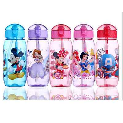 New Easy Baby Kids Children Clear Feeding Drinking Water Straw Bottle Sippy Cup