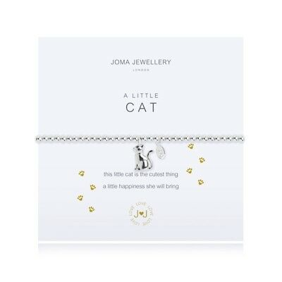 A Little Cat Bracelet - Silver Plated Joma Jewellery Gift for Her