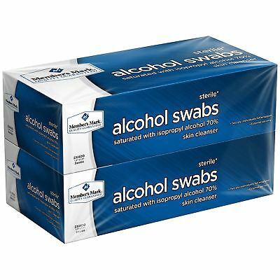 Member's Mark Alcohol Swabs (800 ct.) NEW