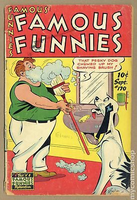 Famous Funnies (1934) #170 GD 2.0