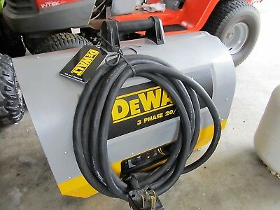 DEWALT DXH2003TS 20/13KW 240V 3Phase Electric construction commercial Heater