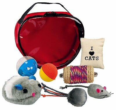 Toy Pack For Cats Kitten cat toy play game Play Set Assorted