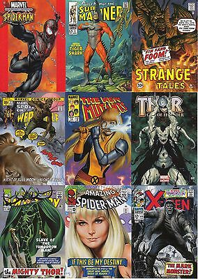 2016 Jusko Marvel Masterpieces What If Set 1-63 Complete 1st /& 2nd Tiers