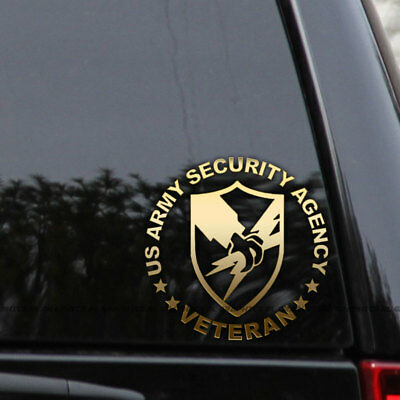 US Army Security Agency Decal Sticker Veteran Truck Car Window Laptop