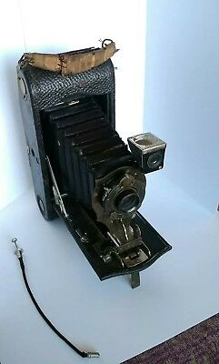 Antique Kodak JR 1A Autographic Camera loaded with old film